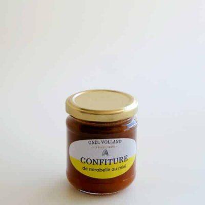 confiture de mirabelle au miel