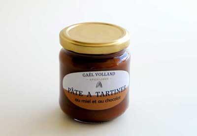 La pâte à tartiner miel-chocolat